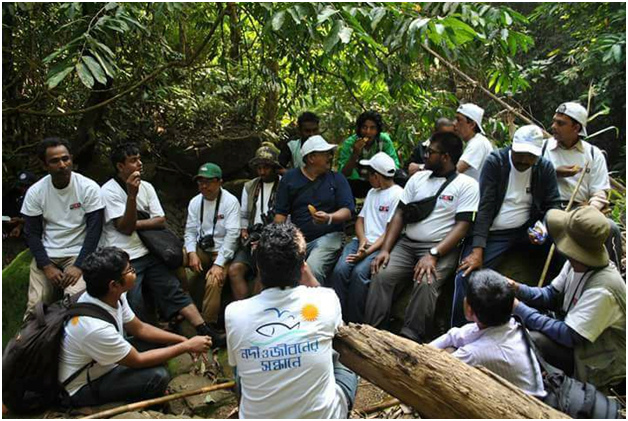 "Isabela Research Team ""Quest for River and Life"" at Karnaphuli"